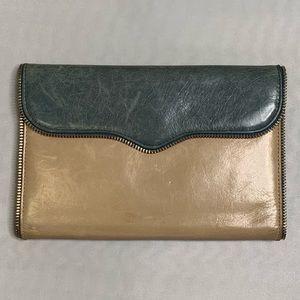 Rebecca Minkoff large wallet Leo exposed zipper